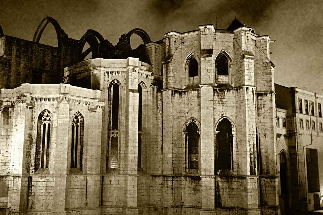 Carmo Church Ruins Lisbon