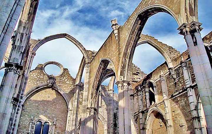 Carmo Ruins Lisbon