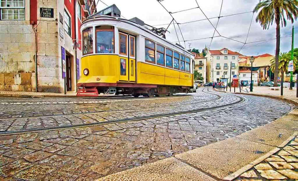 Old Tram - Lisbon