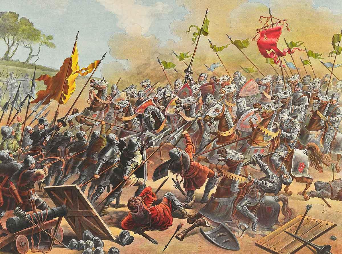 Battle of Aljubarrota - Portugal