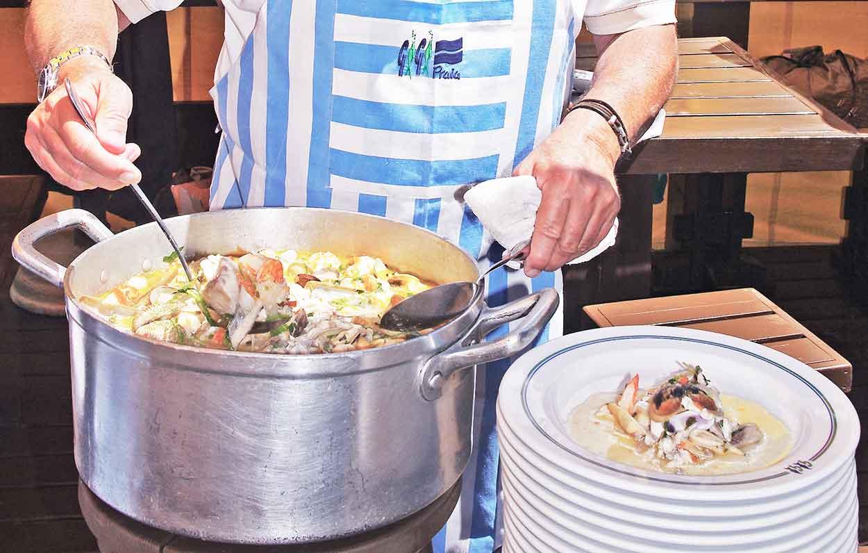 Dining in the Algarve